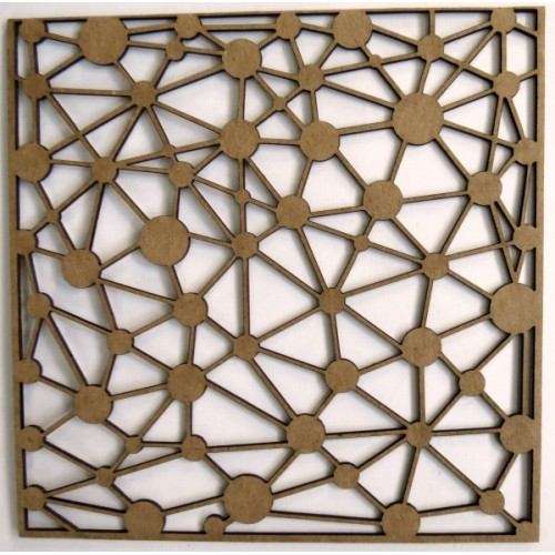"""Out of this World Panel - 6"""" x 6"""" Lattice Panels"""