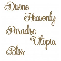 Paradise Word Set