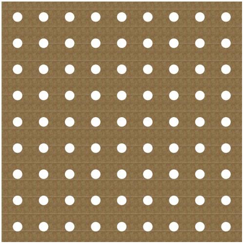 "Pegboard Panel - 6"" x 6"" Lattice Panels"