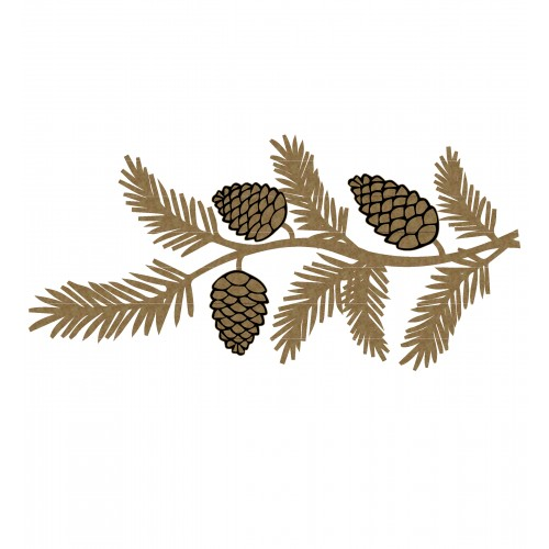 Pine Cone Branch - Trees