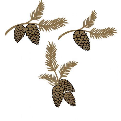 Pine Cone Clusters - Trees