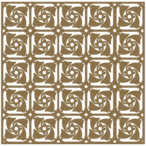 "Pinwheel Panel - 6"" x 6"" Lattice Panels"