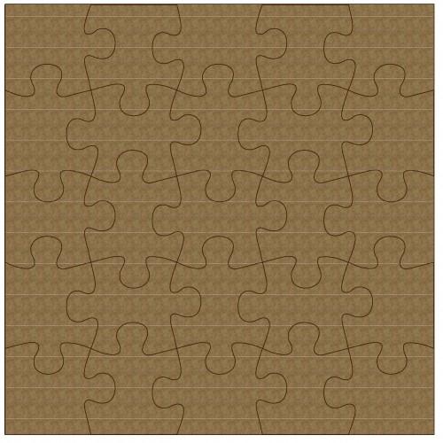 "Puzzle Panel - 6"" x 6"" Lattice Panels"