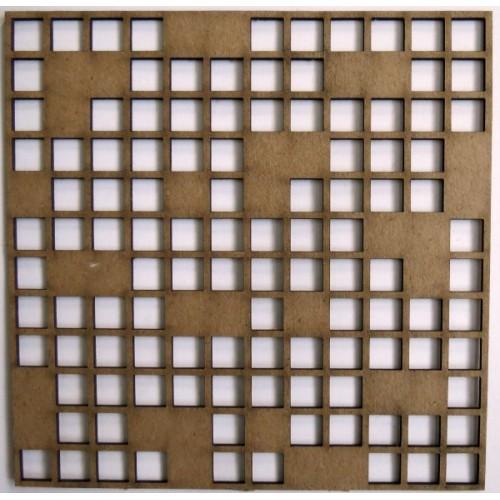 "Puzzled Panel - 6"" x 6"" Lattice Panels"