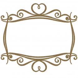 Rectangle Heart Frame