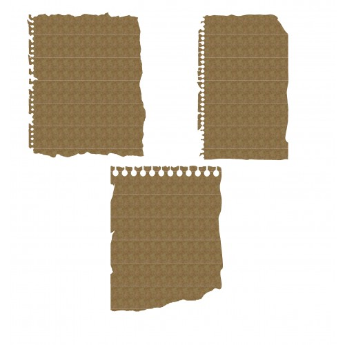 Ripped Notebook Paper - School