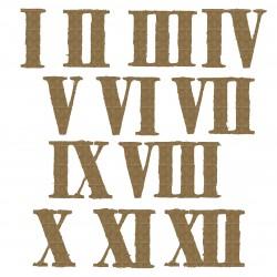 Grunge Roman Numerals