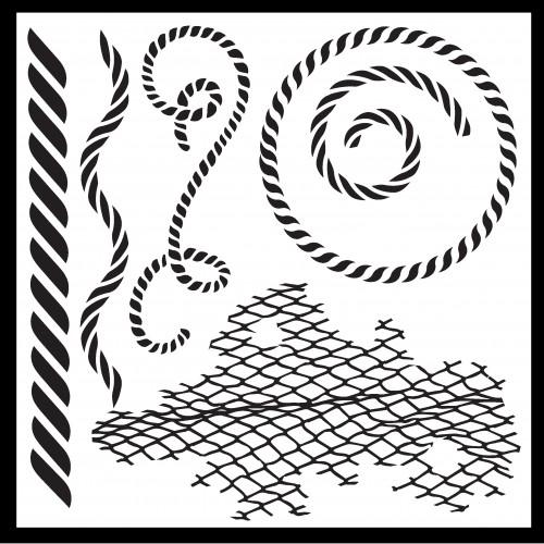 Rope Stencil - Stencils