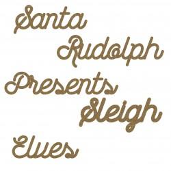 Santa Word Set