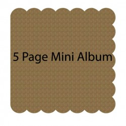Scalloped Mini Album