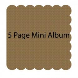 Scalloped Mini Album