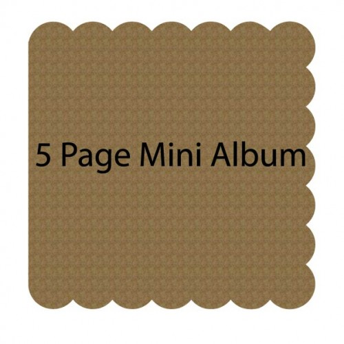 Scalloped Mini Album - Mini Album