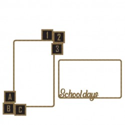 School Days Frame Set