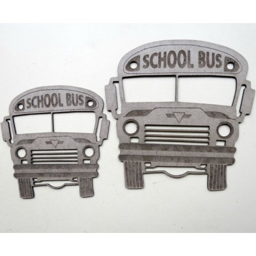 School Bus Front - School