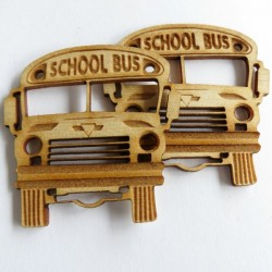 School Bus (set of 3)