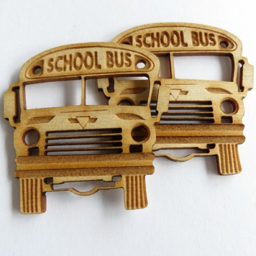 School Bus (set of 3) - School