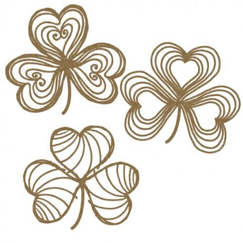 Scribble Shamrock - St. Patrick s Day