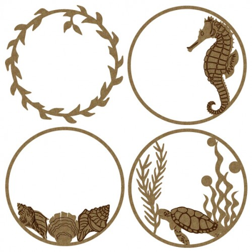 Sea Artist Trading Coins - Artist Trading Card / Coins