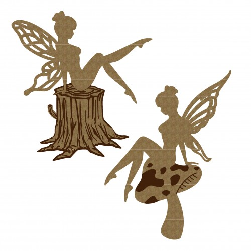 Sitting Fairies - Fantasy