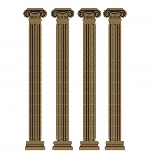 Small Columns - Chipboard