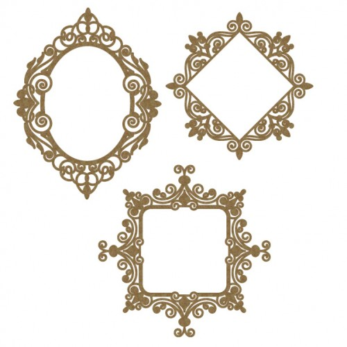 Small Intricate Frames - Frames