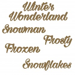 Snow Word Set