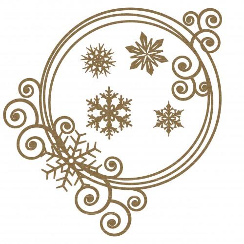 Snowflake Frame 3 - Frames