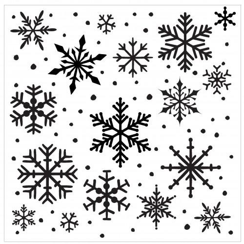 Snowflake Stencil - Stencils