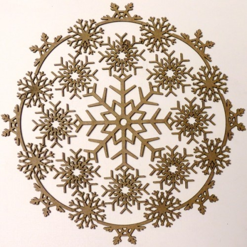 Snowflake Doily - Winter