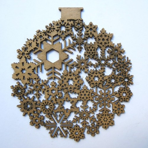 Snowflake Ornament - Christmas