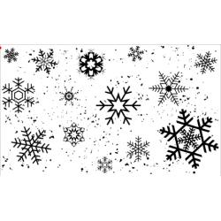 Snowflakes Stamp