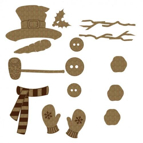 Snowman Pieces - Winter