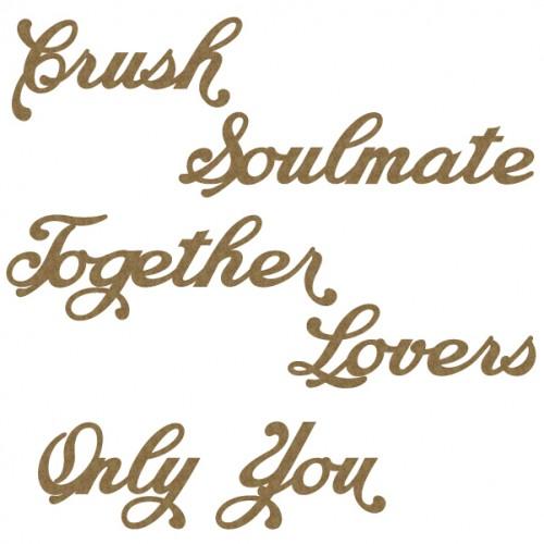 Soulmate Word Set - Words