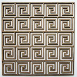 Spiral Square Panel