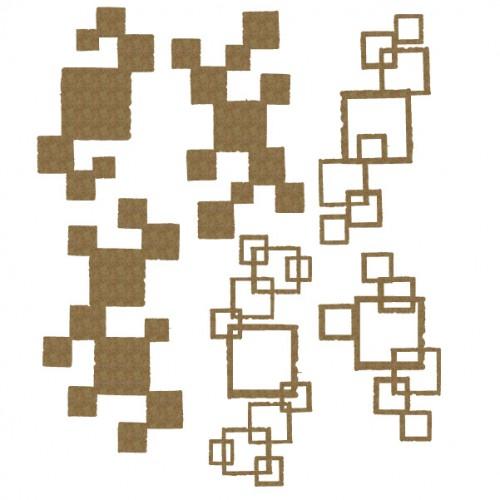 Square pieces - Shapes
