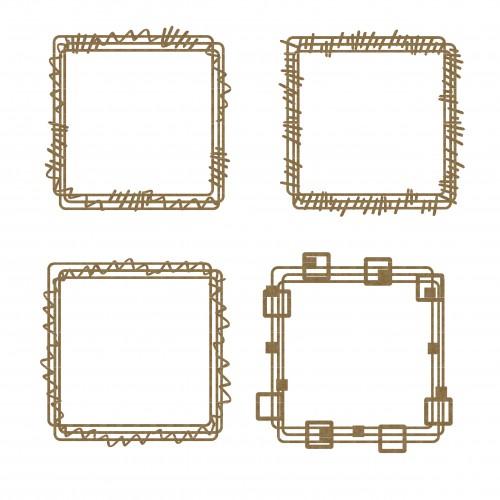 Square Doodle Frames - Shapes