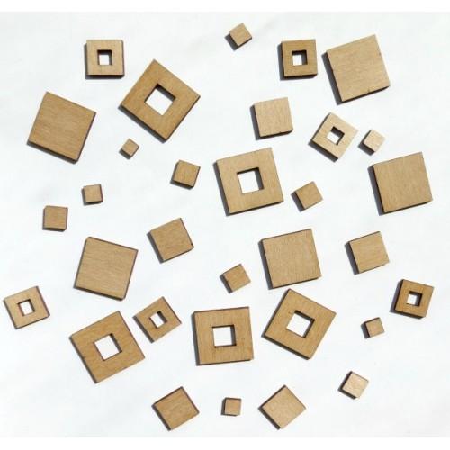 Squares - Wood Veneers