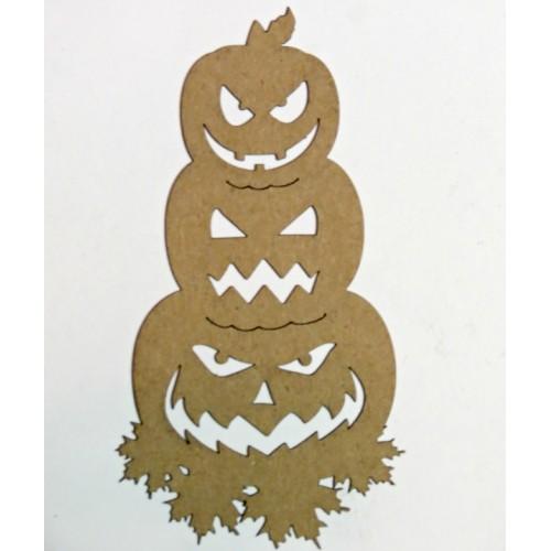 Stacked Pumpkins - Halloween