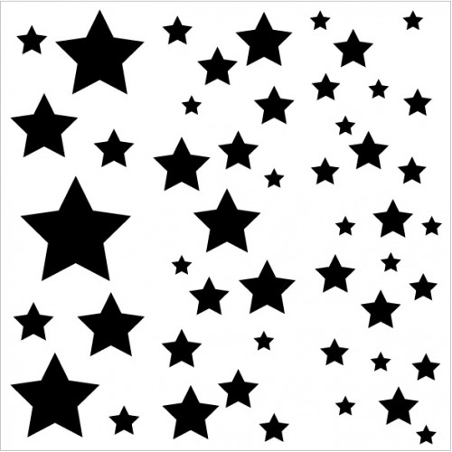 Star Bokeh Stencil - Stencils