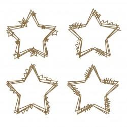 Star Doodle Frames
