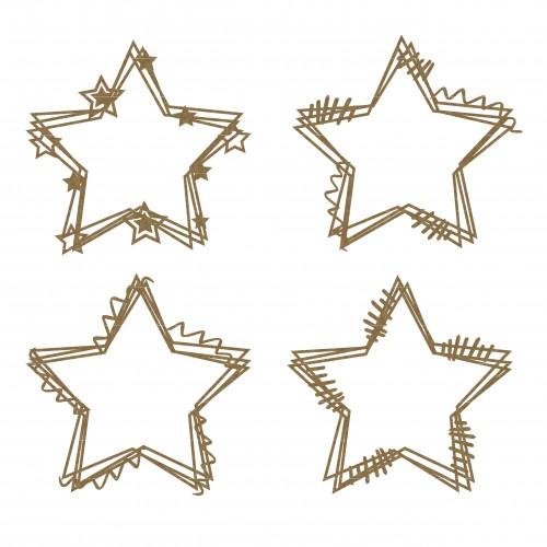 Star Doodle Frames - Shapes