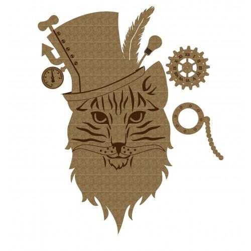 Steampunk cat - Steampunk