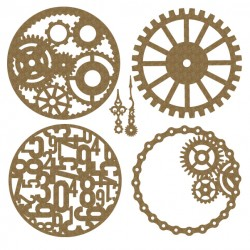 Steampunk Artist Trading Coins