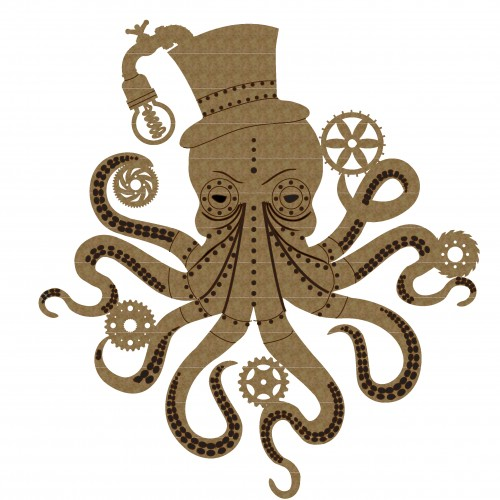 Steampunk Octopus - Steampunk