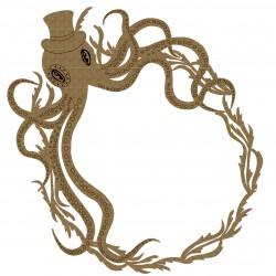 Steampunk Octopus Frame