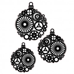 Steampunk Ornament Stamps