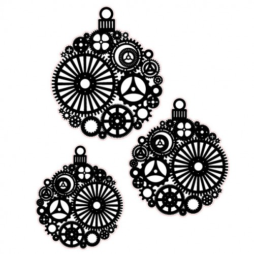 Steampunk Ornament Stamps - Steampunk