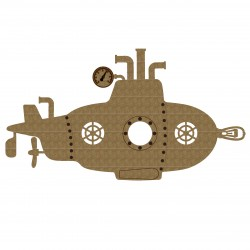 Steampunk Submarine