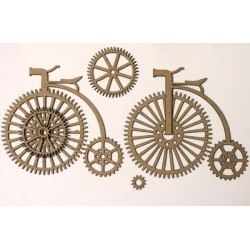 Steampunk Antique Bikes