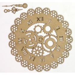 Steampunk Gear Clock 2